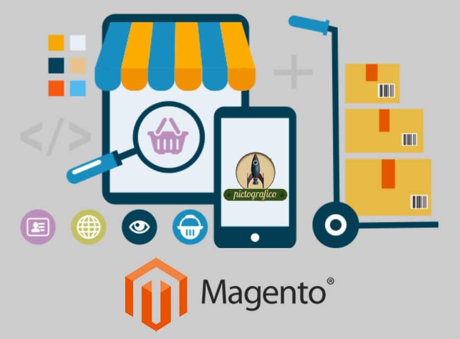 Realizzazione e-commerce magento