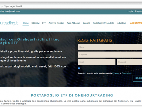 Restyling Sito Web Onehourtrading