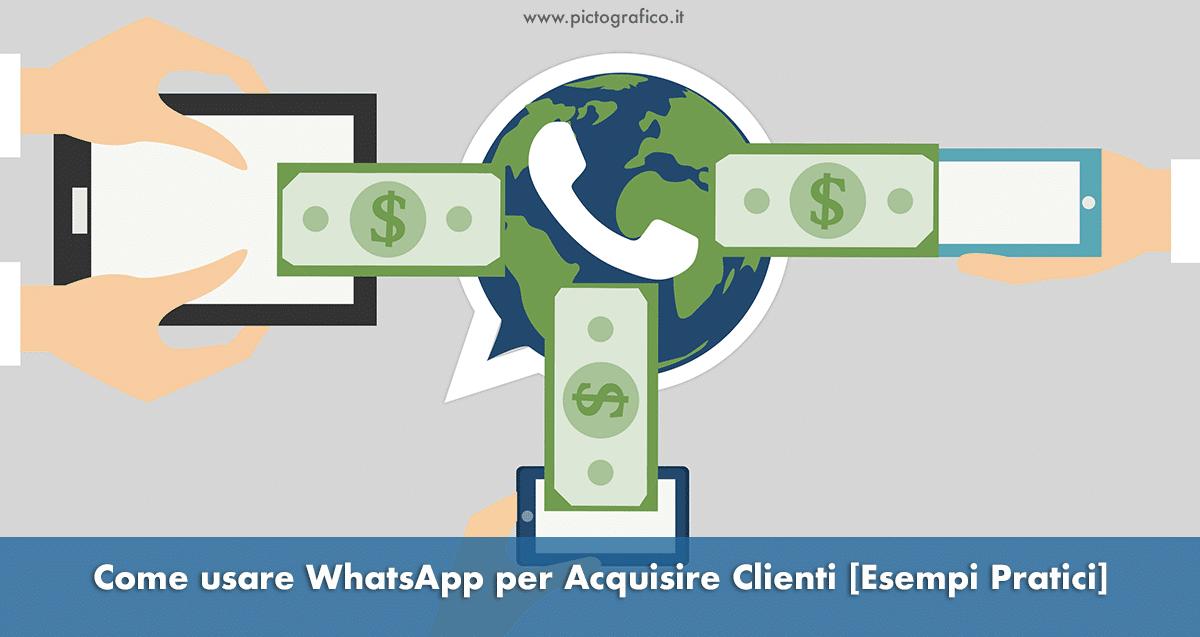 whatsapp-per-acquisire-clienti-pictografico
