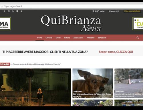 Creazione Sito Web Qui Brianza News