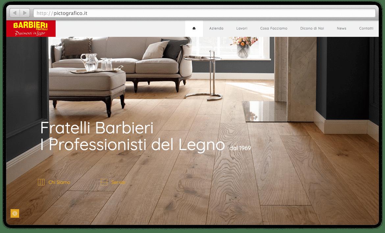 barbieri-parquet-creazione-sito