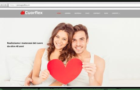 cuorflex-vendita-materassi-bergamo-creazione-sito-pictografico