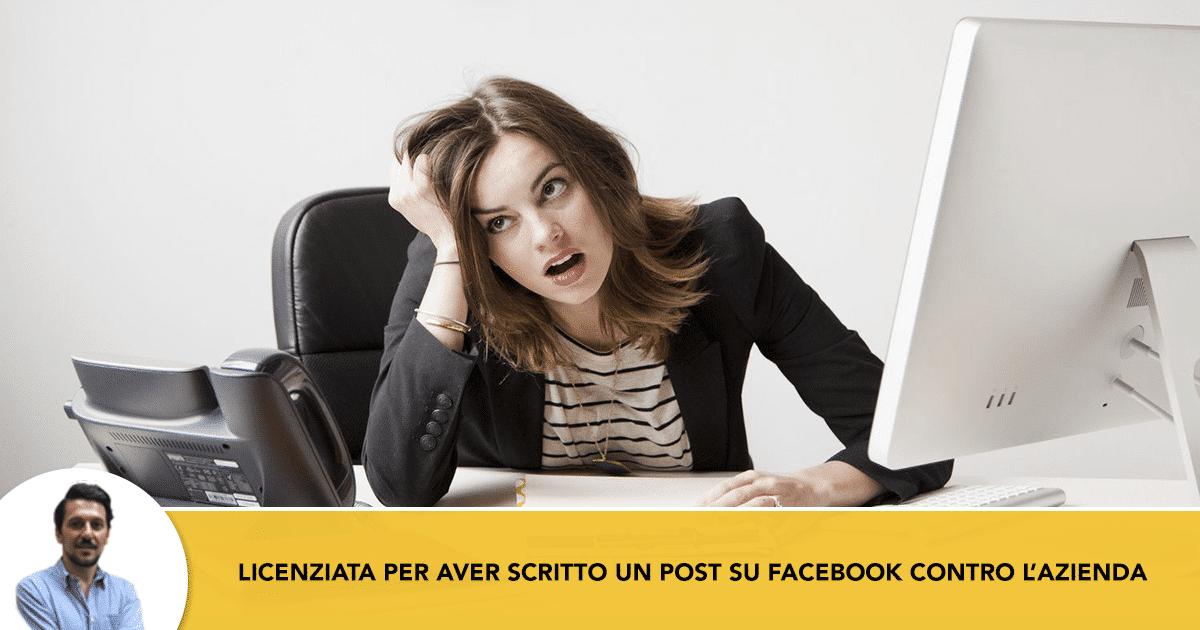 facebook-post-licenziata